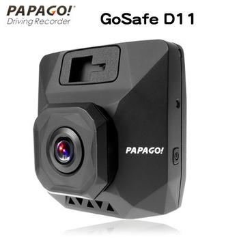 《PAPAGO》PAPAGO !GoSafe D11超廣角水晶級玻璃鏡頭行車記錄器