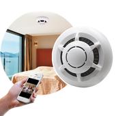 1080P高畫質偽裝煙霧偵測器型網路針孔攝影機(白色)