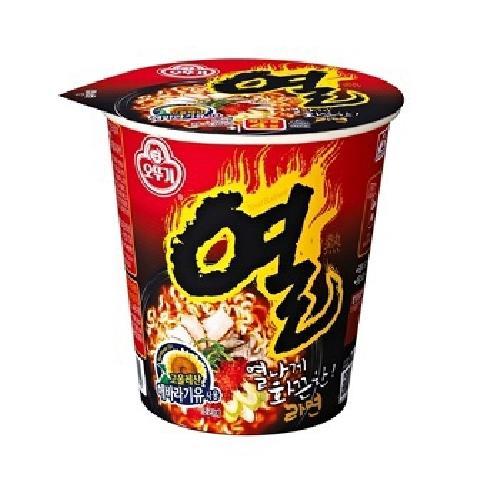 韓國不倒翁 辛辣杯麵(62g/杯)
