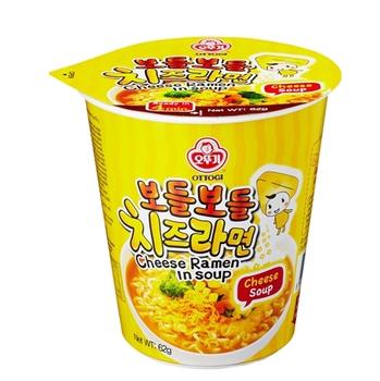 韓國不倒翁 起司風味湯杯麵(62g/杯)