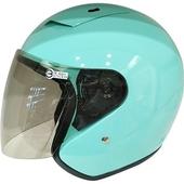 2361半罩安全帽 蒂芬妮綠#XXL