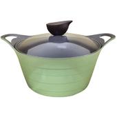《韓國NEOFLAM》陶瓷不沾湯鍋24CM-綠