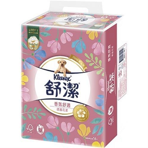 舒潔 香氛舒適抽取衛生紙(100抽X16包)