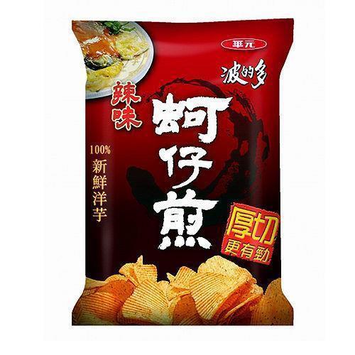 波的多 洋芋片78g/包(厚切蚵仔煎辣味)