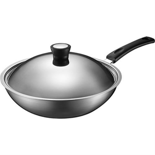 ASD 品味生活多層鋼炒鍋30cm