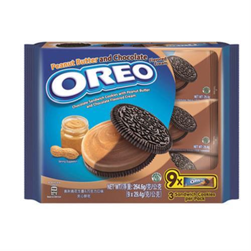 奧利奧 花生醬&巧克力口味夾心餅乾(264.6g)