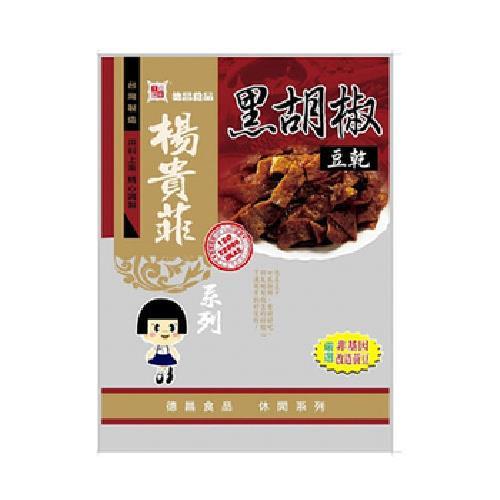 德昌 黑胡椒豆乾(100g)