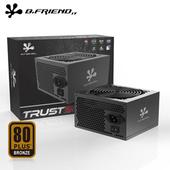 《B.FRiEND》TRUST500 電源供應器 500W 銅牌