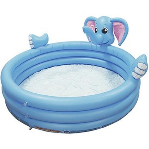 大象造型噴水池