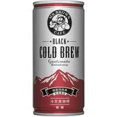 《伯朗》冷萃黑咖啡(200ml*6罐/組)