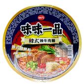 《味丹》味味一品 韓式辣牛肉麵(180g*2入/組)