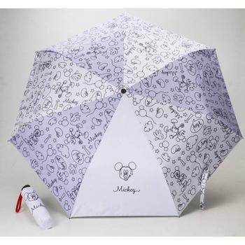 《迪士尼》正版授權 4款雨傘(可選色)(手繪米奇(白))