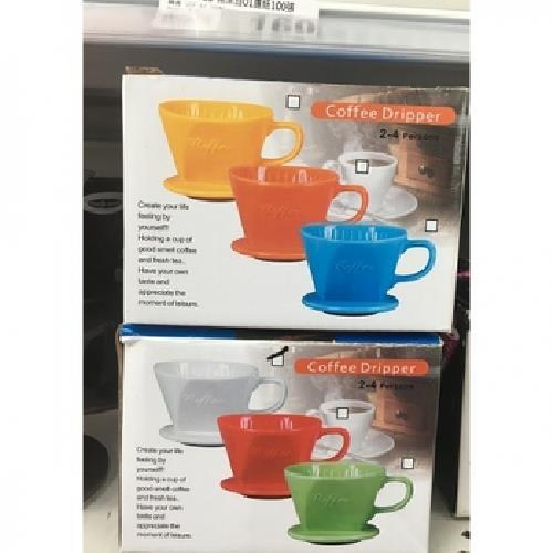 《GW》陶瓷咖啡濾杯1入(顏色隨機)