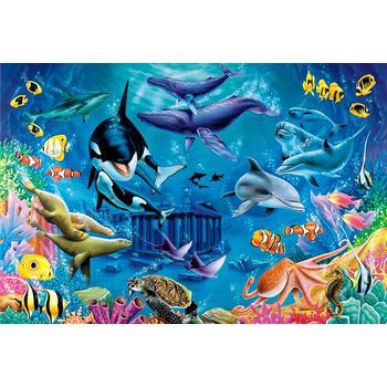 《DC-puzzle》1000片[海底世界]拼圖