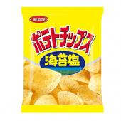 《湖池屋》平切洋芋片-海苔鹽口味(78g/包)