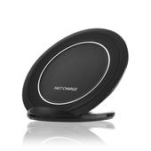 《U-ta》支架式手機無線充電板QI4(通過NCC認證)(黑色)
