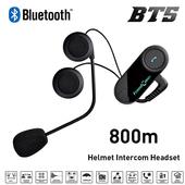 《SOYES》安全帽專用無線藍牙耳機BT5(防水+對講功能)(黑色)