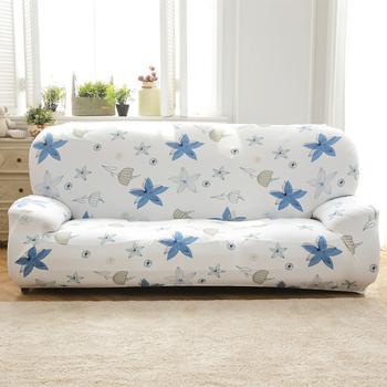 《歐卓拉》香草天空彈性沙發套(3人座)