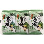 《橘平屋》岩燒海苔-原味(4.2g×3包/袋)
