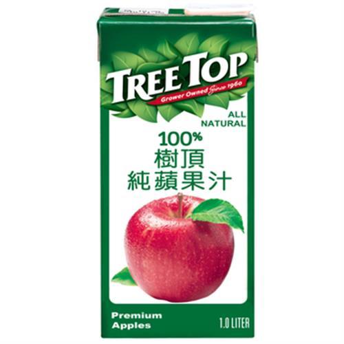 Treetop樹頂 100%純蘋果汁(1000ml/包)