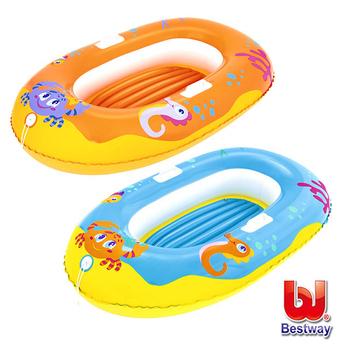 《艾可兒》Bestway。水上生物充氣小艇