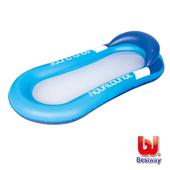 《艾可兒》Bestway。日光浴水上充氣漂浮床(藍)