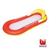 《艾可兒》Bestway。日光浴水上充氣漂浮床(紅)