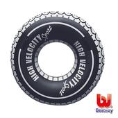 《艾可兒》Bestway。高速輪胎造型泳圈47吋