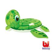 《艾可兒》Bestway。海龜造型充氣浮排/座圈41041
