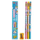 《利百代》學前鉛筆 3支入(CB202-外盒顏色隨機出貨)