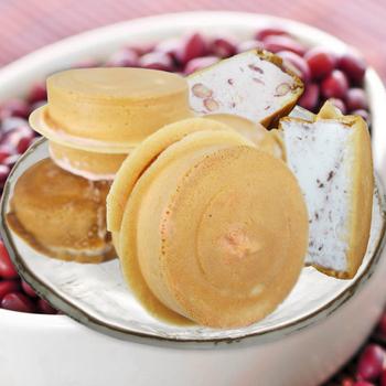 《老爸ㄟ廚房》屏東萬丹紅豆餅冰淇淋(60g/顆)(15顆組)