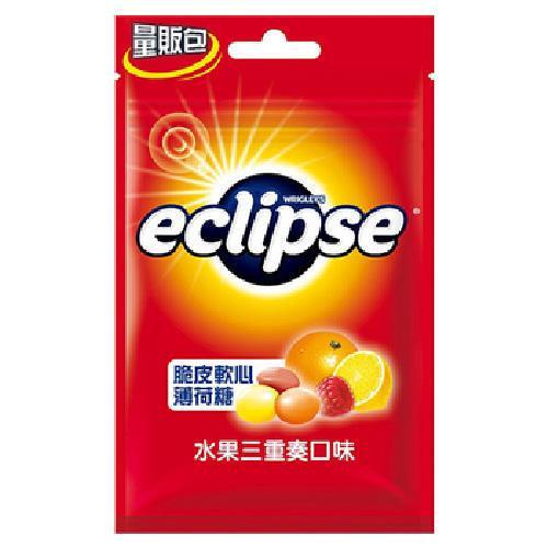 《Eclipse 易口舒》脆皮軟心薄荷糖水果三重奏(60g)
