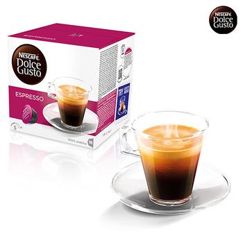 《雀巢DOLCE GUSTO》義式濃縮咖啡膠囊 (16顆/盒,3盒/組)(*1組)