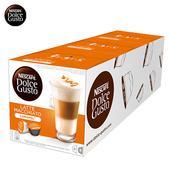 《雀巢DOLCE GUSTO》焦糖瑪奇朵咖啡膠囊 (16顆/盒,3盒/組)(*1組)