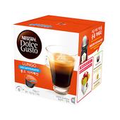 《雀巢DOLCE GUSTO》低咖啡因美式濃黑咖啡膠囊 (16顆/盒,3盒/組)(*1組)