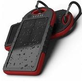 太陽能防水行動電源SPB-5(紅5000mAh)
