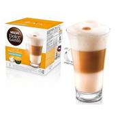 《雀巢DOLCE GUSTO》無糖拿鐵 咖啡膠囊 (16顆/盒,3盒/組)(*1組)