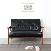 《Homelike》格斯復古皮沙發-雙人座