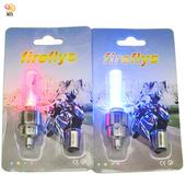 《月陽》震感式7彩LED自行車車輪燈氣嘴燈2入組送電池(BL228)