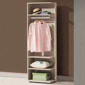 《Homelike》米樂2尺開放式衣櫃