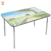《月陽》月陽PVC環保桌面折疊小桌子電腦桌和室桌(L4730)