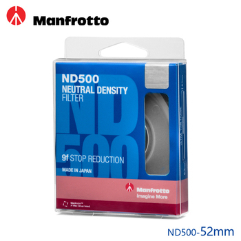 《Manfrotto》52mm ND500 減光鏡