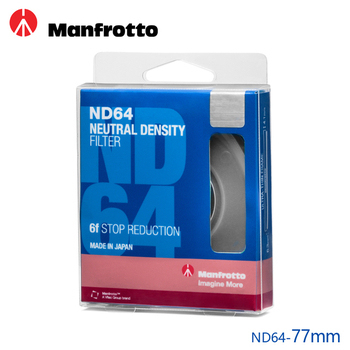 《Manfrotto》77mm ND64 減光鏡