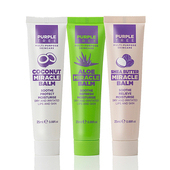 《【即期品】英國紫樹》神奇萬用膏-椰子x1+蘆薈x1+乳木果x1(25ml)
