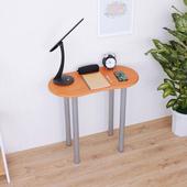 《頂堅》寬80x深40x高75/公分-書桌/電腦桌/餐桌/洽談桌(三色可選)(楓葉紅木色)