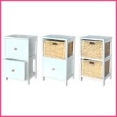 《2H 傢俱屋》歐式實木鄉村收納衣物櫃(歐式實木2號櫃)