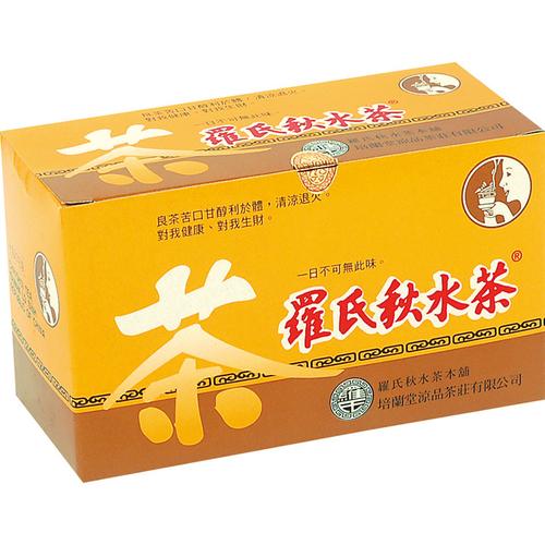 《羅氏秋水茶》個人式沖泡茶包(3.75gX20包/盒)