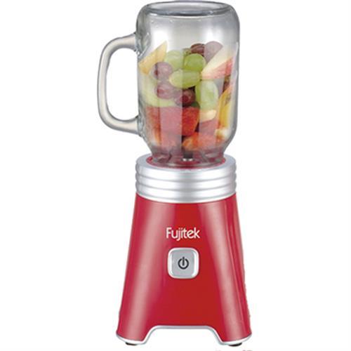 Fujitek 玻璃隨行杯果汁機YH-J002(玻璃梅森杯單杯組)