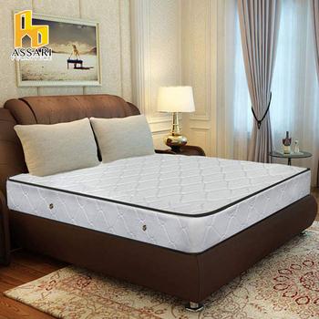 《ASSARI》3M防潑水二線獨立筒床墊(單人3尺)