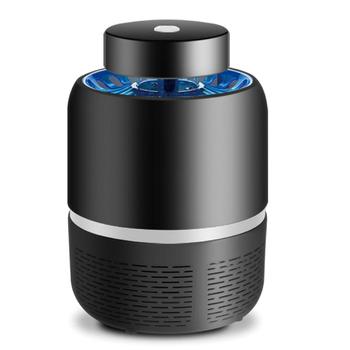 《FJ》激光媒吸入式LED捕蚊燈/滅蚊器(MW-68)(黑色)
